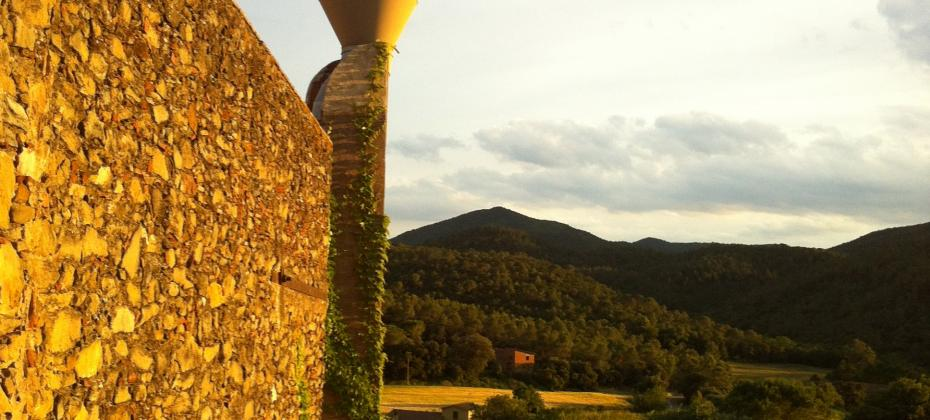 View of the Empordà countryside